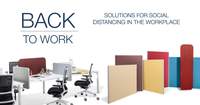Back to Work Social Distancing Office Solutions