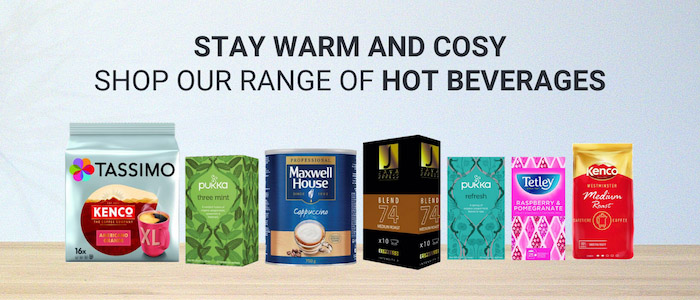Stay warm and cosy this winter with hot drinks