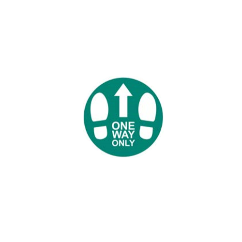 5 Pack - One Way Only Anti Slip Floor Sticker