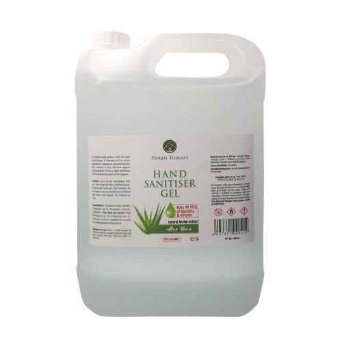 Herbal Therapy Hand Sanitiser Gel 5 Litre