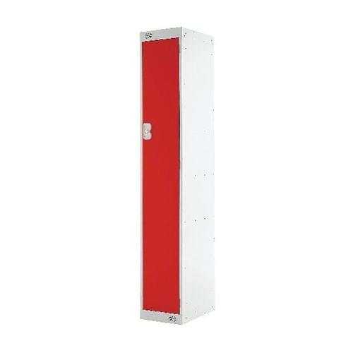 PROBE SINGLE  DOOR LOCKER   305MM X 305MM  RED  DOOR