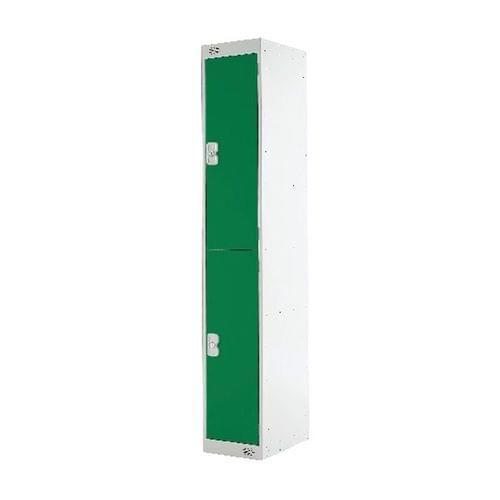 PROBE 2  DOOR  LOCKER 305MM X 305MM  GREEN  DOORS