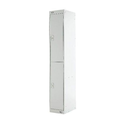 PROBE 2  DOOR  LOCKER 305MM X 305MM  LIGHT GREY  DOORS