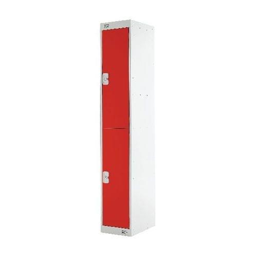 PROBE 2  DOOR  LOCKER 305MM X 305MM  RED  DOORS