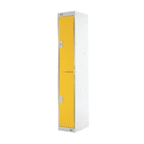 PROBE 2  DOOR  LOCKER 305MM X 305MM  YELLOW DOORS