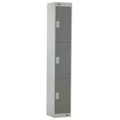 PROBE 3  DOOR  LOCKER 305MM X 305MM  DARK GREY DOORS