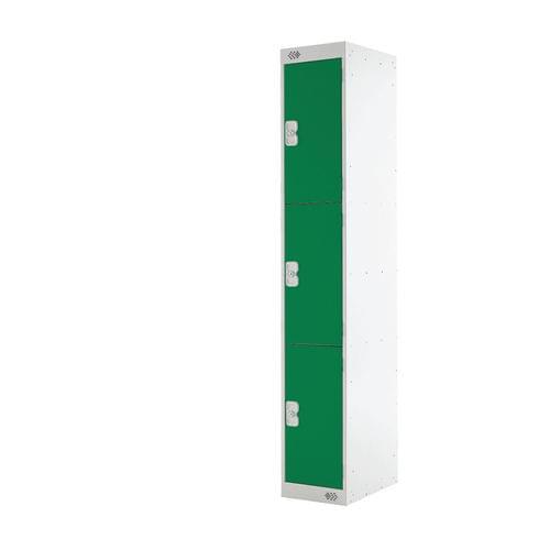 PROBE 3  DOOR  LOCKER 305MM X 305MM  GREEN  DOORS