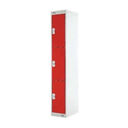 PROBE 3  DOOR  LOCKER 305MM X 305MM  RED  DOORS