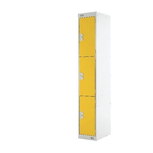 PROBE 3  DOOR  LOCKER 305MM X 305MM  YELLOW DOORS