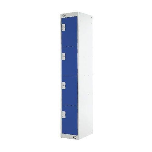 PROBE 4  DOOR  LOCKER 305MM X 305MM BLUE DOORS