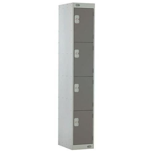 PROBE 4  DOOR  LOCKER 305MM X 305MM DARK GREY DOORS