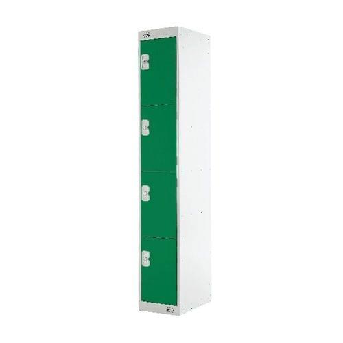PROBE 4  DOOR  LOCKER 305MM X 305MM GREEN DOORS