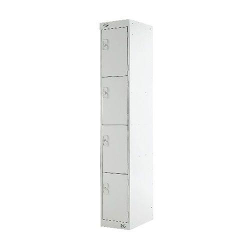 PROBE 4  DOOR  LOCKER 305MM X 305MM LIGHT GREY DOORS
