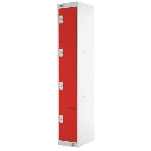 PROBE 4  DOOR  LOCKER 305MM X 305MM RED DOORS