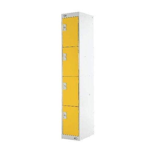 PROBE 4  DOOR  LOCKER 305MM X 305MM YELLOW DOORS