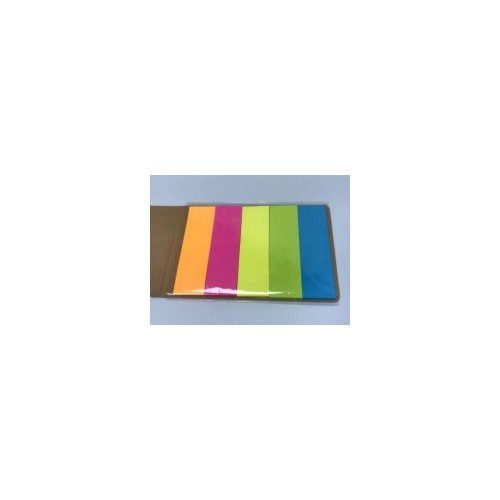 50p Repositional Page Markers  5 colours