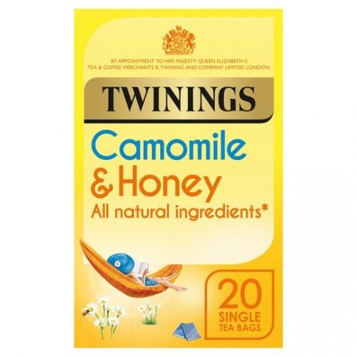Twinings Camomile & Honey Tea Bags Pk20
