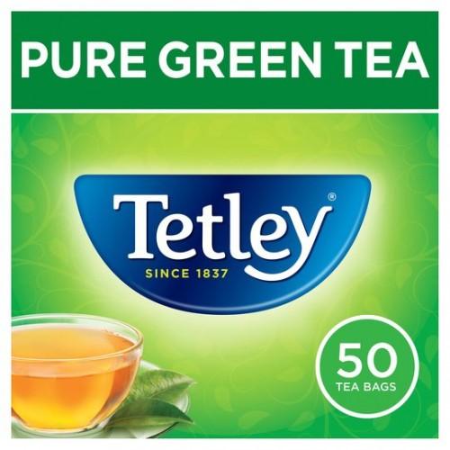 Tetley Pure Green Tea Bags PK50