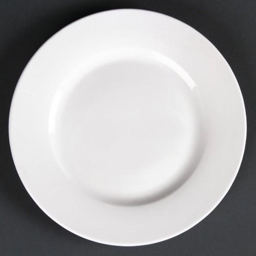 Lumina Wide Rim Plate 285mm- Pack of 4