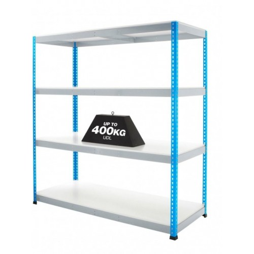 BiG400 Racking with Melamine Shelves