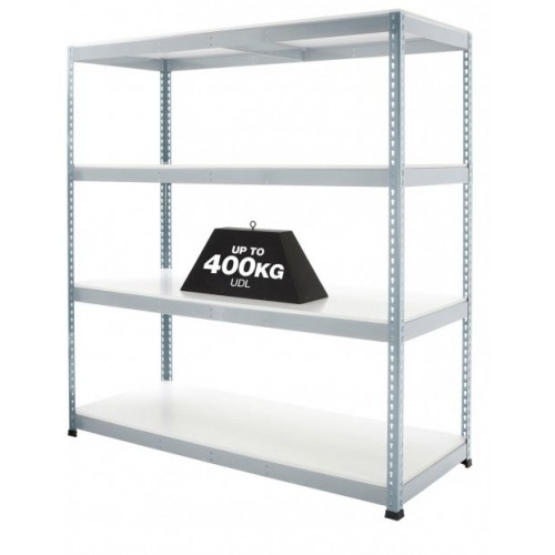 Galvanised Steel Boltless Shelving