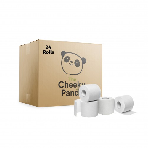 Bamboo Toilet Tissue- Pack of 24