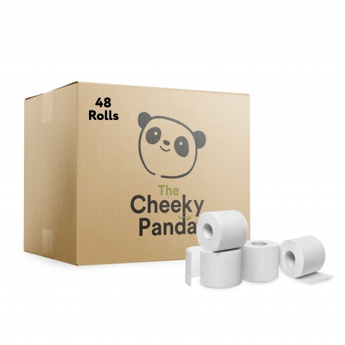 Bamboo Toilet Tissue- Pack of 48