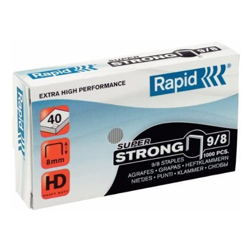 Rapid Staples 9/8- Pack of 1000