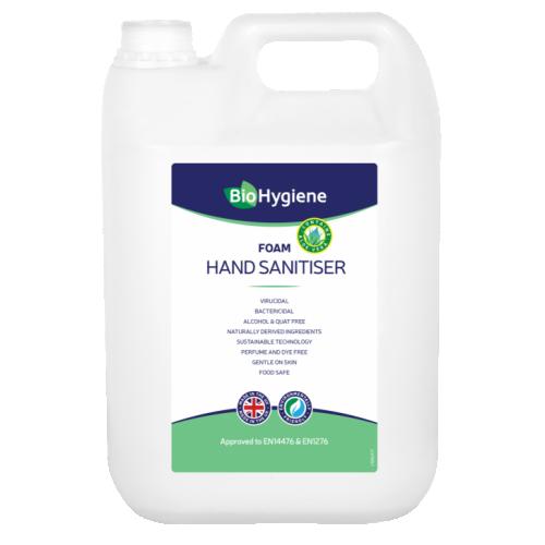 Foam Hand Sanitiser 5 Litre