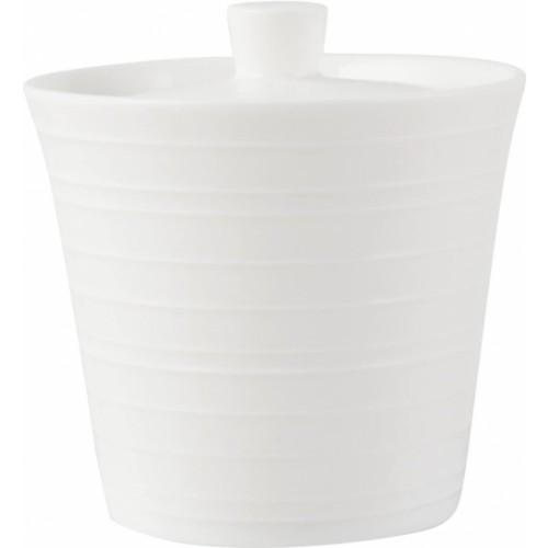 Mikasa Bone China Sugar Bowl - White