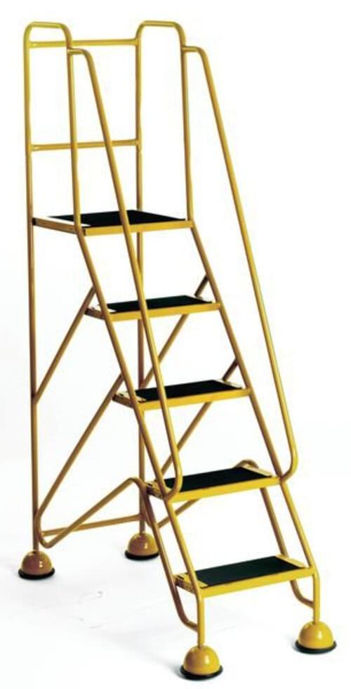 Premium Mobile Steps Yellow - 5 Step