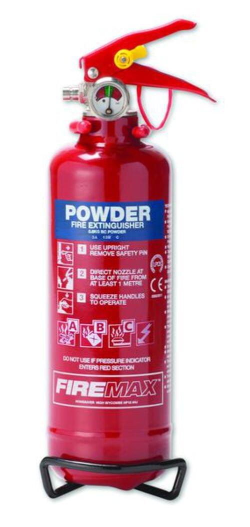 0.6kg Economy Powder Fire Extinguisher