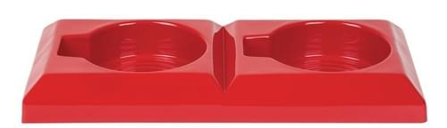 Economy Fire Points - 75 x 655 x 310mm Double - Red