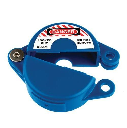 Gate Valve Lockout - 25 to 63.5mm - Blue