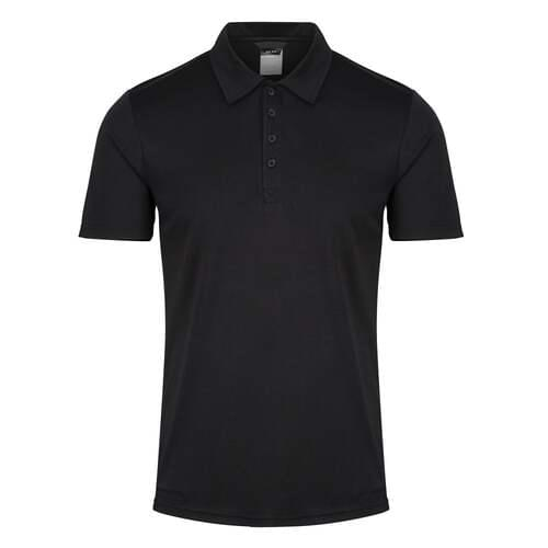 Honestly Made Recycled Polo Shirt- Black, 3XL