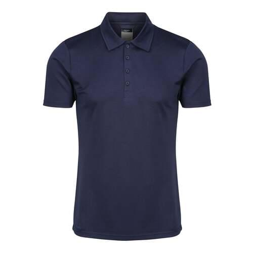 Honestly Made Recycled Polo Shirt- Navy, Large