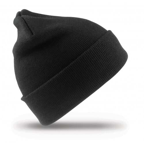Recycled Thinsulate Beanie- Black