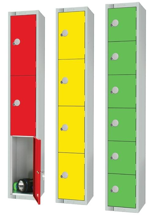 1 Compartment Locker - Green - 1800 x 300 x 300mm