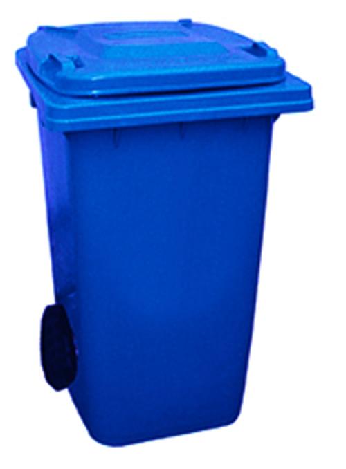 240 Litre Wheeled Bin - Blue