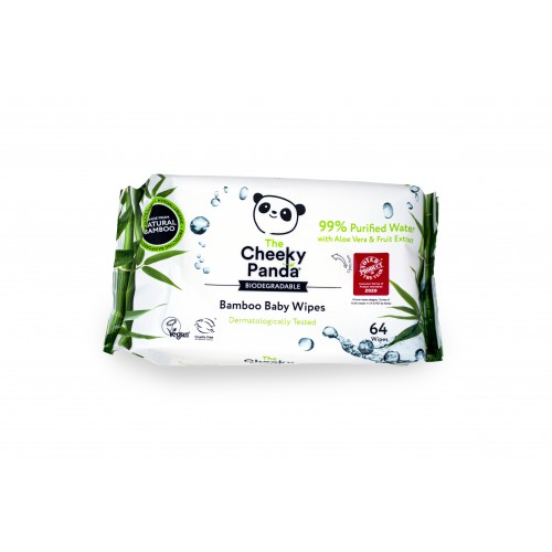 Biodegradable Bamboo Baby Wipe- Pack of 24