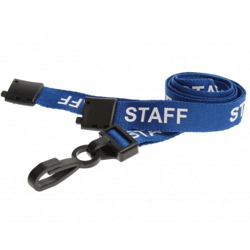 Blue Staff Lanyard - Pack of 10