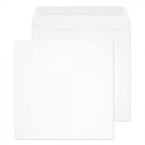 Square Wallet Peel and Seal Ultra White 220x220 120gsm