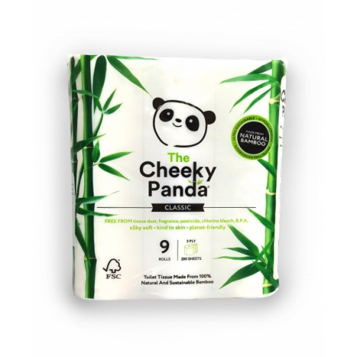 Bamboo Toilet Tissue- Pack of 45