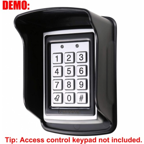Waterproof Plastic Rain Cover for Access Control Keypad