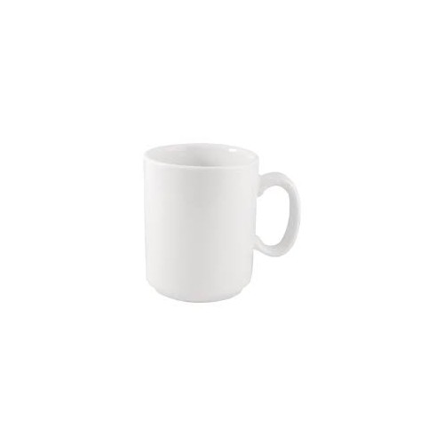 Plain Whiteware Windsor Mugs- Pack of 36