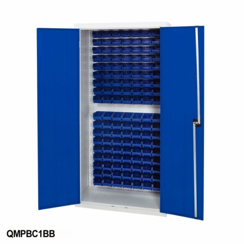 Blue Pick Bin Cupboard
