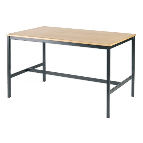 Metalliform H Frame Work Table