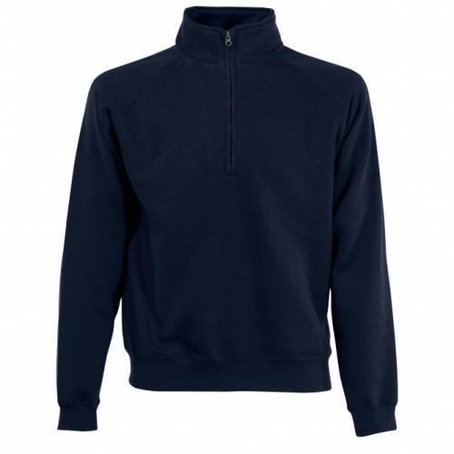 Premium 70/30 Zip-Neck Sweatshirt