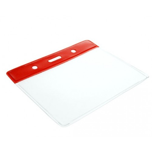 Red Plastic Wallet- Pack of 100