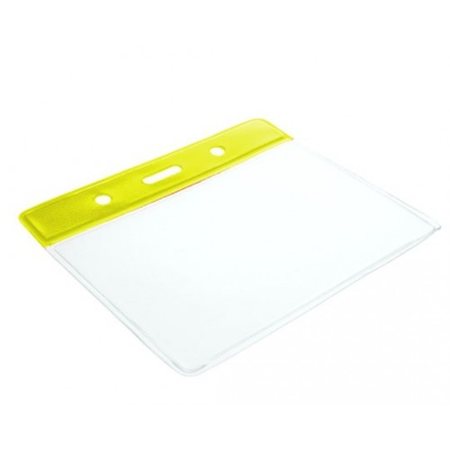 Yellow Plastic Wallet- Pack of 100